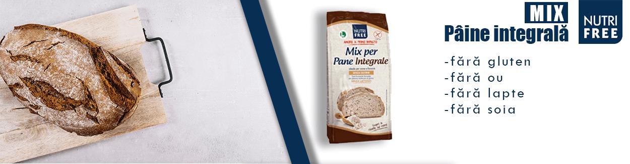 Mix pentru paine integrala fara gluten - Nutrifree