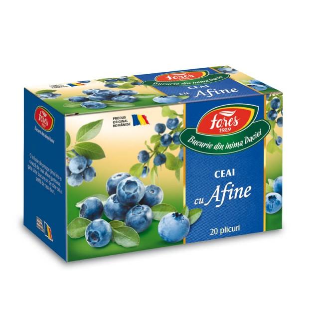 Ceai cu Afine - 20 dz Fares