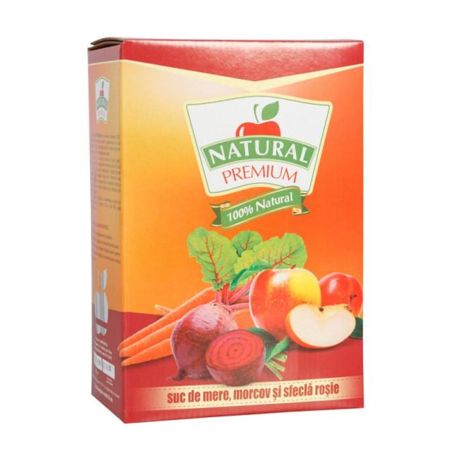 Suc natural de mere - morcov - sfecla rosie - Sano Vita