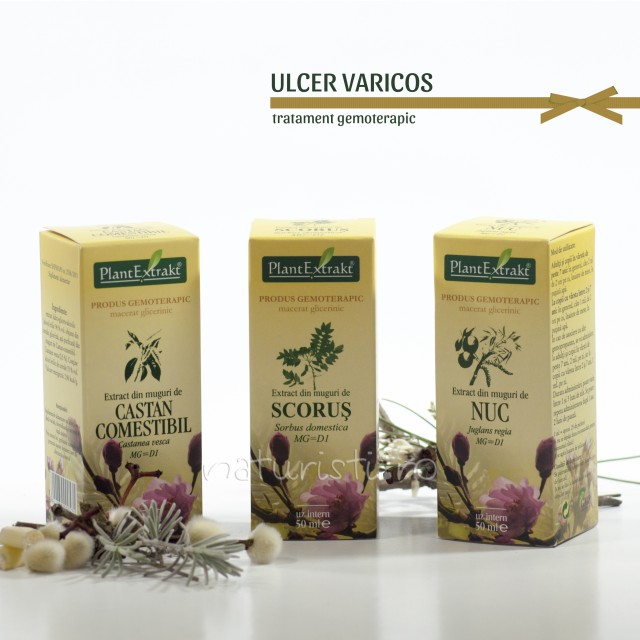 Tratament naturist - Ulcer varicos (pachet)