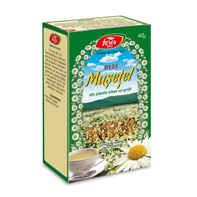 Ceai Musetel Flori D121 - 40 g Fares
