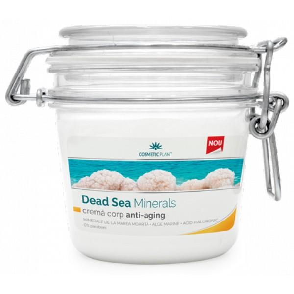 Crema de corp anti-aging Dead Sea Minerals - 200 ml