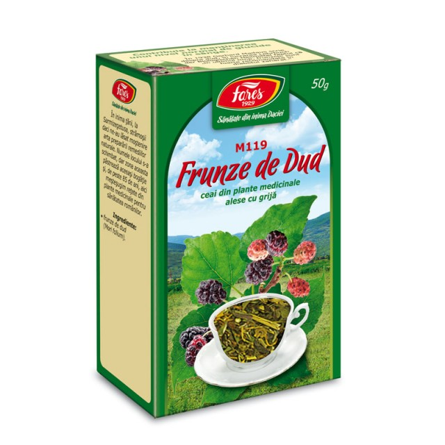 Ceai Dud - Frunze - 50 gr Fares
