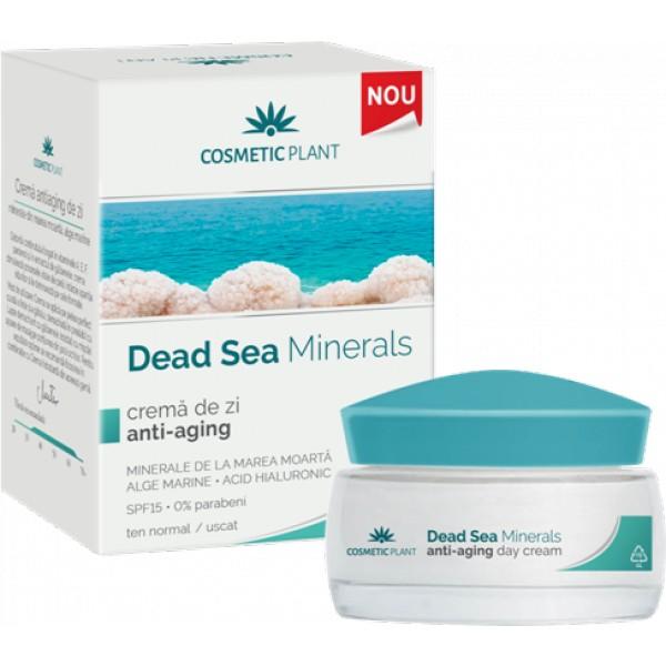 Crema de zi anti-aging Dead Sea Minerals - 50 ml