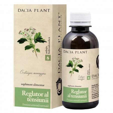 HerboTensin tinctură (Reglator al tensiunii), 50 ml, DACIA PLANT