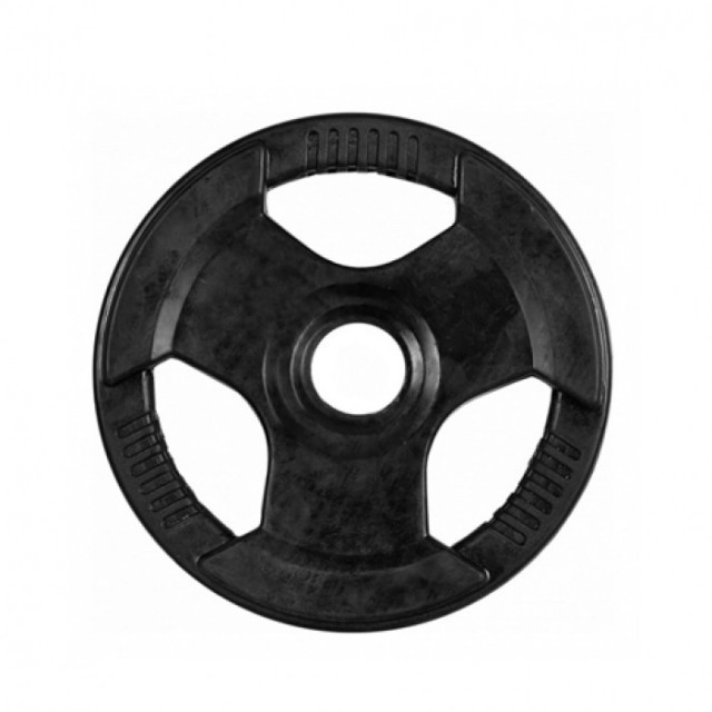 Disc olimpic cauciucat de 15 kg
