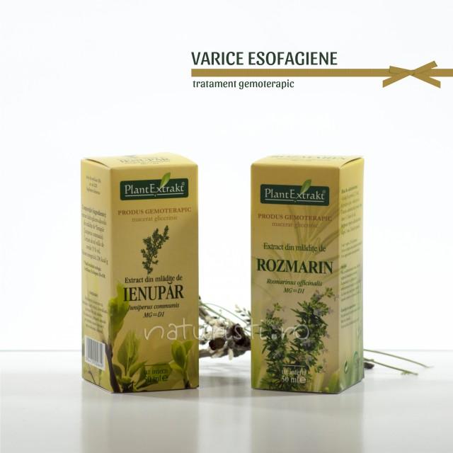 Tratament naturist - Varice esofagiene (pachet)