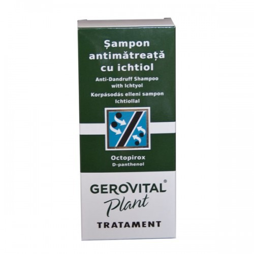 Sampon antimatreata cu ichtiol - 150 ml - Gerovital