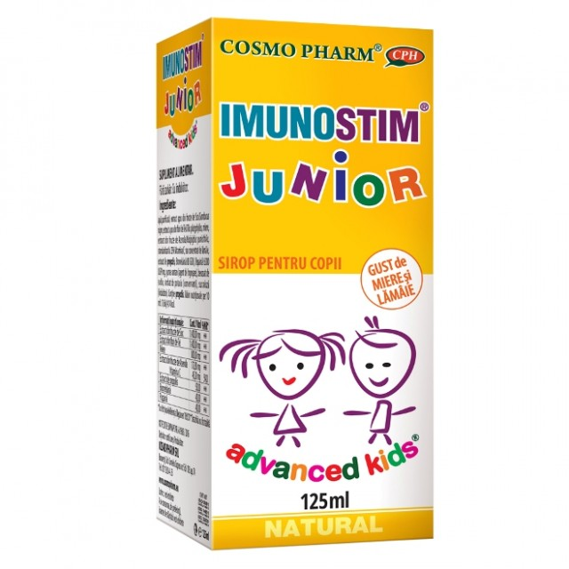 Sirop Imunostim Junior - 125 ml