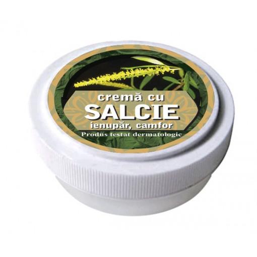 Crema cu extracte de salcie, ienupar, camfor 15 g