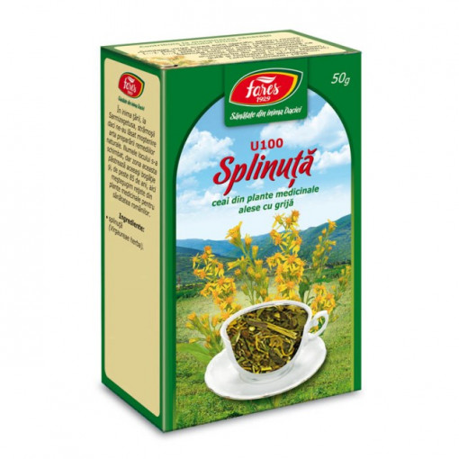 Ceai Splinuta - Iarba U100 - 50 gr Fares