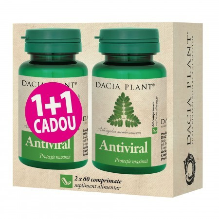 Antiviral - 60 cpr 1+1 GRATIS