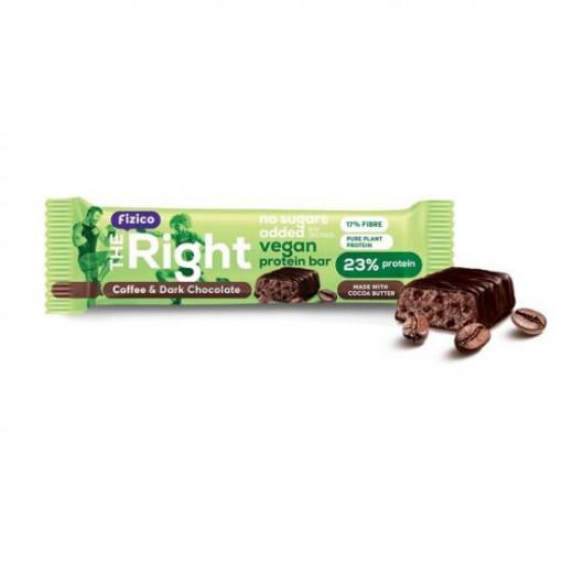 Baton proteic Vegan cu cafea - 40 g