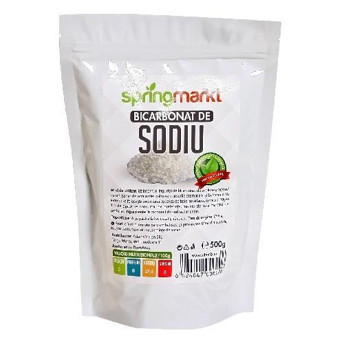 Bicarbonat de Sodiu Alimentar - 500 gr Adams Vision
