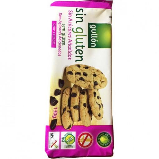 Biscuiti chip choco - 130 g - Gullon