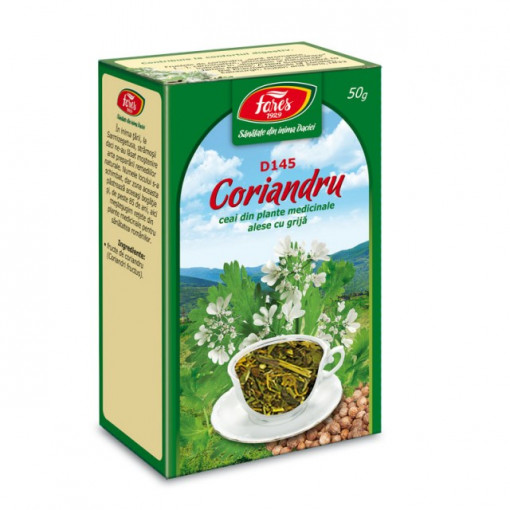 Ceai Coriandru - Fructe D145 - 50 gr Fares