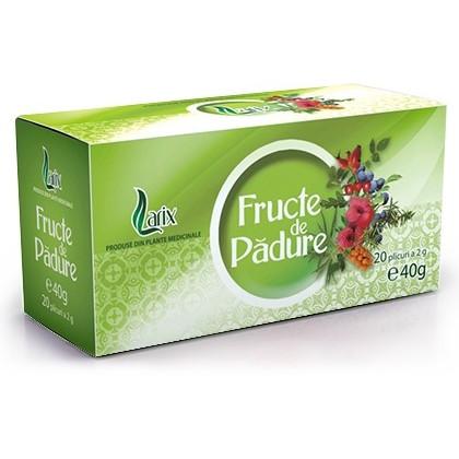 Ceai fructe de padure doze larix