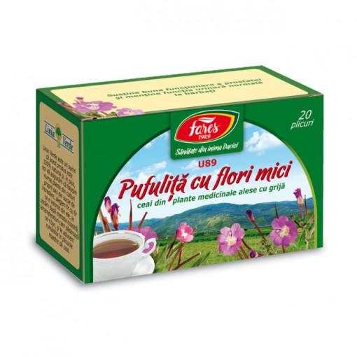 Ceai Pufulita cu Flori Mici U89 - 20 pl Fares