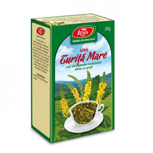 Ceai Turita Mare - Iarba - 50 gr Fares