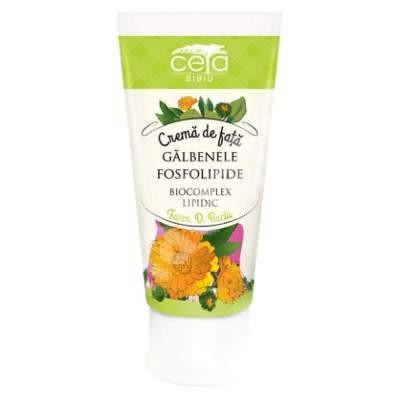 Crema de fata cu extract de galbenele si fosfolipide - 50 ml
