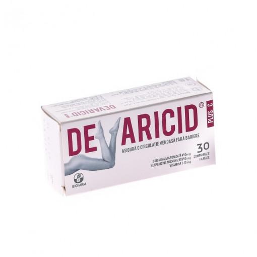 Devaricid Plus C - 30 cpr