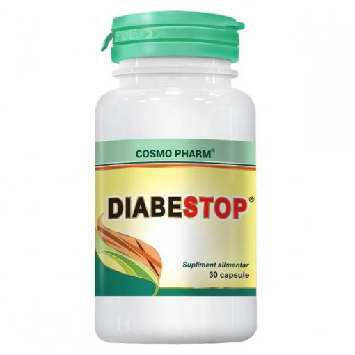 Diabetostop - 30 cps
