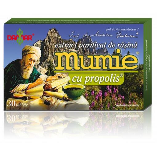 Extract purificat de rasina Mumie cu propolis - 30 tbl