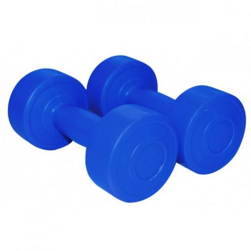 Gantere aerobic albastru 750Gx2 1161