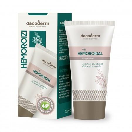 Gel hemoroidal Dacoderm - 75 ml