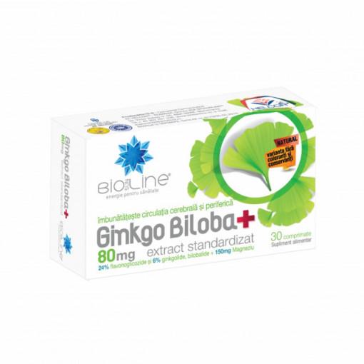 Ginkgo Biloba 80 mg - 30 cpr