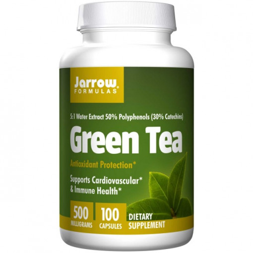 Green TEA (Ceai verde) 500mg - 100 cps - Jarrow Formulas