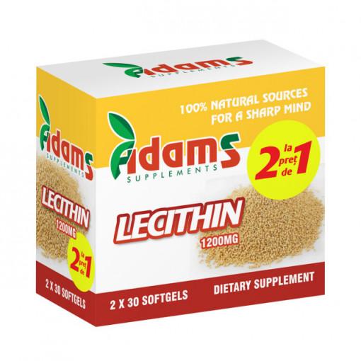 Lecitina 1200 mg - 30 cps 1+ 1 Gratis