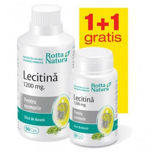 Lecitina 1200 mg - 90 cps + 30 cps Gratis