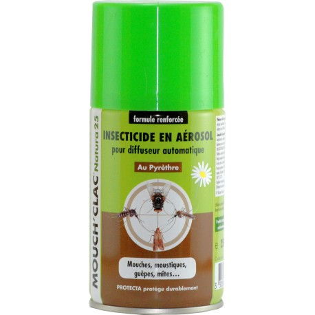 Poze Mouch'Clac 25 Natura - Spray cu insecticid natural - 250 ml