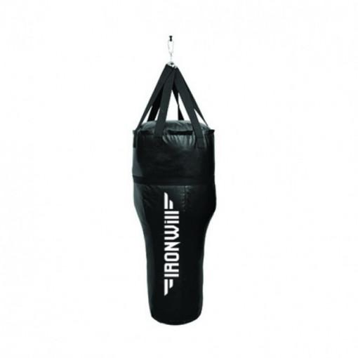Sac de box negru in unghi - 35 kg