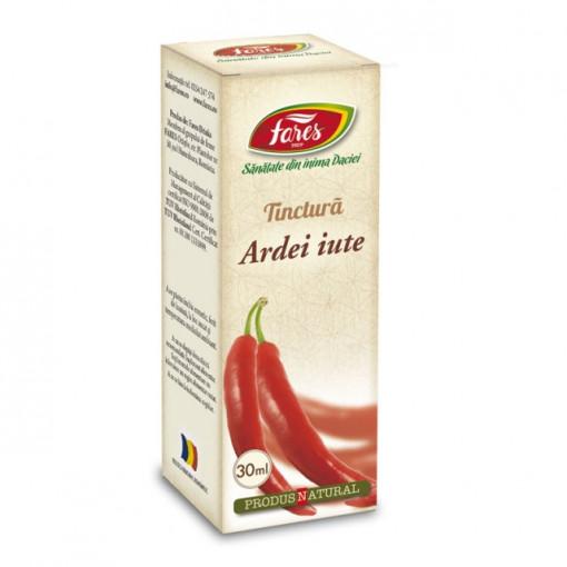 Tinctura Ardei Iute - 30 ml Fares
