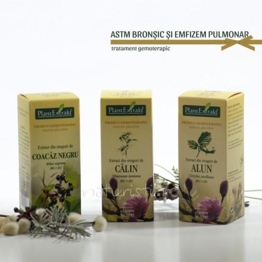 Tratament naturist - Astm bronsic si emfizem pulmonar (pachet)
