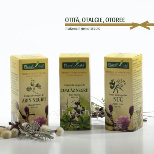 Tratament naturist - Otita, Otalgie, Otoree (pachet)