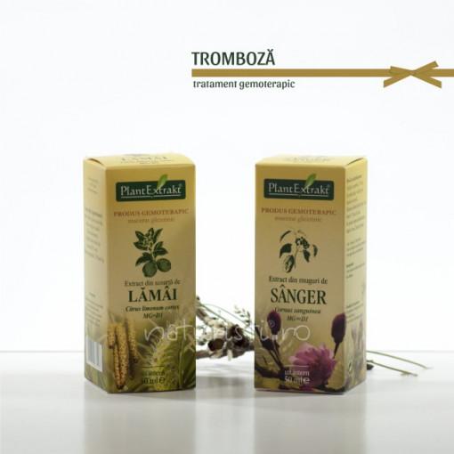 Tratament naturist - Tromboza (pachet)