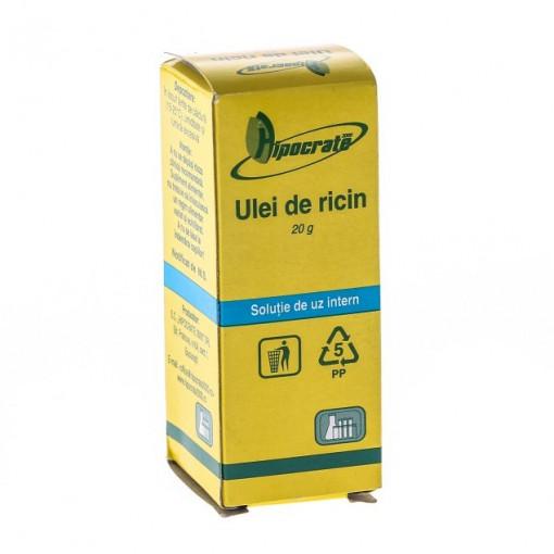 Ulei ricin - 20 ml Hipocrate