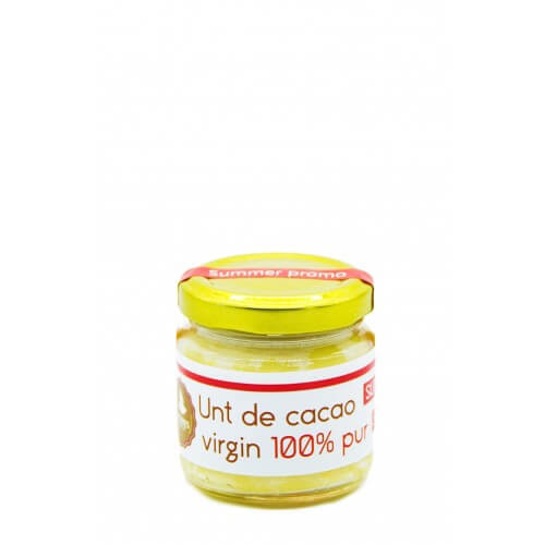 Unt de cacao virgin - 100 g