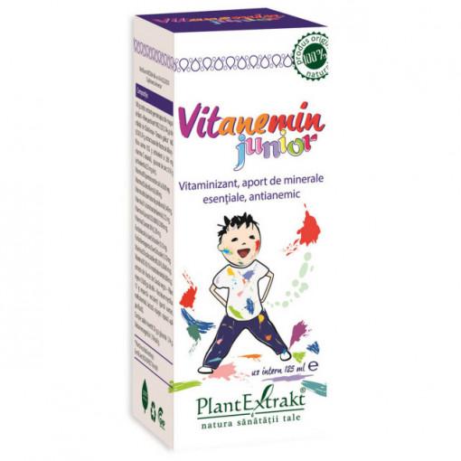 Vitanemin - sirop pentru copii - 125 ml - Plantextrakt