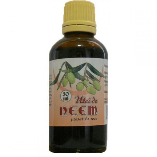 Ulei de Neem presat la rece - 50 ml