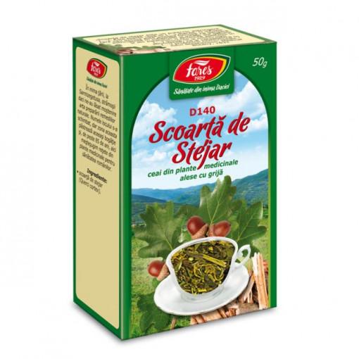 Ceai Stejar - Scoarta D140 - 50 gr Fares