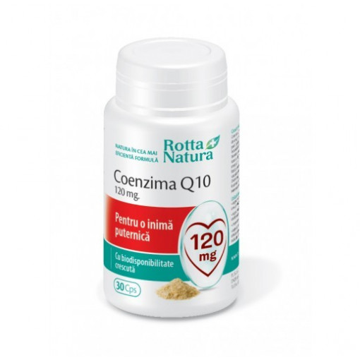 Coenzima Q10 120 mg - 30 cps