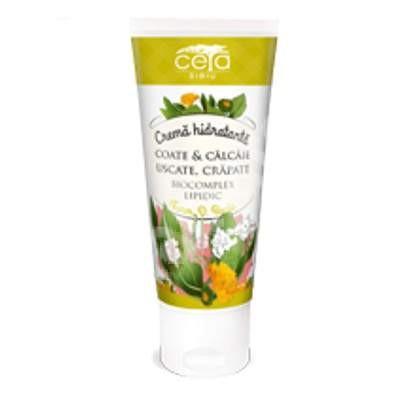 Crema hidratanta pentru coate si calcaie uscate si crapate - 50 ml