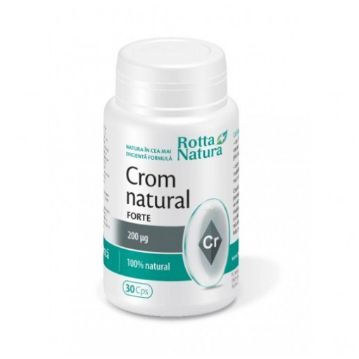 Poze Crom Natural Forte - 30 cps