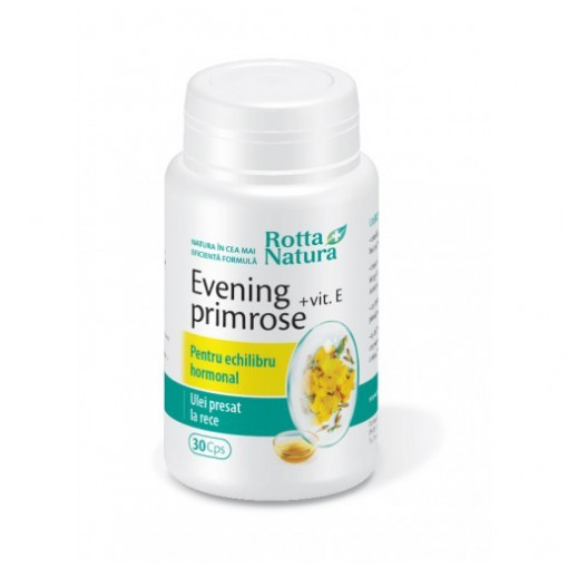 Poze Evening Primrose + Vitamina E - 30 cps