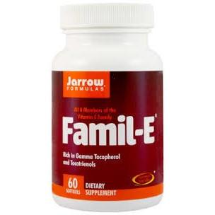 Famil-E (Vitamina E) - 60 capsule gelatinoase moi - Jarrow Formulas