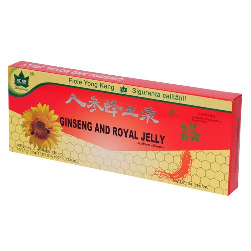 Ginseng & Royal Jelly YK - 10 fiole x 10 ml